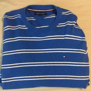 Tommy Hilfiger blue sweat shirt
